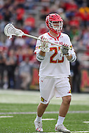 College Park, MD - February 25, 2017: Maryland Terrapins Adam DiMillo (23) in action during game between Yale and Maryland at  Capital One Field at Maryland Stadium in College Park, MD.  (Photo by Elliott Brown/Media Images International)