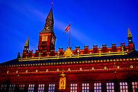 Town Hall, Radhuspladsen (Town Hall Square), Copenhagen, Denmark