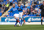 St Johnstone v Ross County...17.08.13 SPFL<br /> Dave Mackay makes it 4-0<br /> Picture by Graeme Hart.<br /> Copyright Perthshire Picture Agency<br /> Tel: 01738 623350  Mobile: 07990 594431