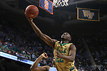 14 March 2015: Notre Dame's Jerian Grant. The Notre Dame Fighting Irish played the University of North Carolina Tar Heels in an NCAA Division I Men's basketball game at the Greensboro Coliseum in Greensboro, North Carolina in the ACC Men's Basketball Tournament quarterfinal game. Notre Dame won the game 90-82.