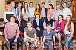 Eily O' Connell from Knocknagoshel celebrated her 88th. Birthday with her family last Friday night in Leen's Hotel Abbeyfeale.<br /> Kneeling Front : Grandchildren Brendan, Eoin, Thomas &amp; Anna ( all O' Connells)<br /> Seated : Eileen McLoughlin ( Daughter), Eily O' Connell &amp; husband Tom  , Joan Bourke ( Daughter).<br /> Back: Eileen O' Connell ( Daughter in law), Denis ( Son) Darragh O' Connell( Grandson), Aisling O' Connell (Granddaughter), Danny (Son), Katie O' Connell Granddaughter,) Jim Bourke ( Son in law), Brigid(Daughter in law), Noel (Son), John (Son).