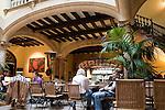 Cappuccino Cafe and Bar, Sant Miguel Street, Palma de Mallorca, Majorca Spain