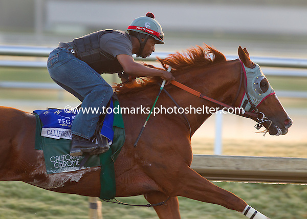 California Chrome works for career finale in Pegasus World Cup - 01/22/2017