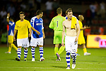 St Johnstone v Eskisehirspor....18.07.12  Uefa Cup Qualifyer.A gutted Liam Craig leaves the field.Picture by Graeme Hart..Copyright Perthshire Picture Agency.Tel: 01738 623350  Mobile: 07990 594431