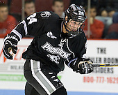 Noel Acciari (PC - 24) - The Boston University Terriers defeated the visiting Providence College Friars 4-2 (EN) on Saturday, December 13, 2012, at Agganis Arena in Boston, Massachusetts.