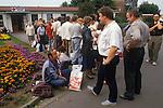 Friedland refugee camp West Germany. Polish refuges 1980's.