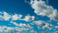 Sky Background, Blue, Clouds