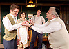 No Villain<br /> by Arthur Miller<br /> at Trafalgar Studios, London, Great Britain <br /> press photocall<br /> 17th June 2016 <br /> <br /> <br /> Alex Forsyth as Arnold <br /> Kenneth Jay as Grandpa Barnett <br /> <br /> <br /> <br /> Photograph by Elliott Franks <br /> Image licensed to Elliott Franks Photography Services