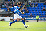 St Johnstone v Dundee United...27.08.11   SPL Week 5.Francisco Sandaza scores to make it 3-1.Picture by Graeme Hart..Copyright Perthshire Picture Agency.Tel: 01738 623350  Mobile: 07990 594431