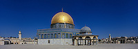 Asie/Israël/Judée/Jérusalem: le Haram el-Chérif et le Dôme du Rocher Esplanade du Dome