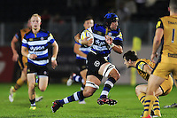 Alex Humfrey of Bath United goes on the attack. Aviva A-League match, between Bath United and Bristol United on September 19, 2016 at the Recreation Ground in Bath, England. Photo by: Patrick Khachfe / Onside Images