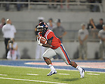 Ole Miss running back Jaylen Walton (6) returns a kickoff for a touchdown vs. Texas at Vaught-Hemingway Stadium in Oxford, Miss. on Saturday, September 15, 2012. Texas won 66-21. Ole Miss falls to 2-1.