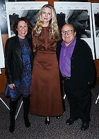 LOS ANGELES, CA, USA - OCTOBER 27: Rhea Perlman, Brit Marling, Danny DeVito arrive at the Los Angeles Premiere Of Amplify's 'The Better Angels' held at the Directors Guild Of America on October 27, 2014 in Los Angeles, California, United States. (Photo by Xavier Collin/Celebrity Monitor)