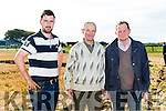 At the Ballyheigue Ploughing Match on Sunday were Colm Dineen, Causeway, Thomas Healy, Ballyheigue, Brendan Blackwell, Ardfert