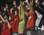 "Ole MIss students at C.M. ""Tad"" Smith in Oxford, Miss. on Saturday, March 5, 2010. (AP Photo/Oxford Eagle, Bruce Newman)"