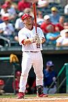 14 March 2007: St. Louis Cardinals catcher Gary Bennett in the action against the Washington Nationals at Roger Dean Stadium in Jupiter, Florida...Mandatory Photo Credit: Ed Wolfstein Photo