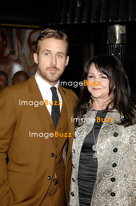 Ryan Gosling and Donna Gosling during the premiere of the new movie from Warner Bros. Pictures GANGSTER SQUAD, held at Grauman's Chinese Theatre, on January 7, 2013, in Los Angeles..