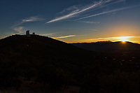 We captured this sunset image of the  McDonald Observatory near Fort Davis in Jeff Davis County, Texas, United States after dark..