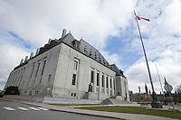 Supreme Court of Canada is pictured in Ottawa Wednesday April 25, 2012. The Supreme Court of Canada is the highest court of Canada and is the final court of appeals in the Canadian justice system.