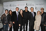 Terry and Tina Lundgren & Donald Trump Sarah Hughes Evan Lysacek Dee Snider at the 2012 Skating with the Stars - a benefit gala for Figure Skating in Harlem celebrating 15 years on April 2, 2012 at Central Park's Wollman Rink, New York City, New York.  (Photo by Sue Coflin/Max Photos)