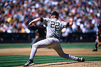 SEATTLE, WA - Roger Clemens of the New York Yankees in action against the Seattle Mariners during a game at Safeco Park in Seattle, Washington in 2001. Photo by Brad Mangin
