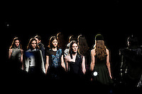 New york, United States. 7th February 2013 -- Models display creations by Timo Weiland during New York Fashion Week, MBFW 2013 in New York. Photo by Kena Betancur / VIEWpress.