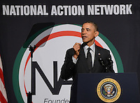 President Barack Obama Speaks at the 16th Annual National Action Network's Convention NY
