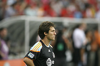Guillermo Barros Schelotto #7 of the MLS All-Stars during the 2010 MLS All-Star match against Manchester United at Reliant Stadium, on July 28 2010, in Houston, Texas. Manchester United won 5-2.
