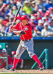 6 March 2016: Washington Nationals outfielder Reed Johnson in action during a Spring Training pre-season game against the St. Louis Cardinals at Roger Dean Stadium in Jupiter, Florida. The Nationals defeated the Cardinals 5-2 in Grapefruit League play. Mandatory Credit: Ed Wolfstein Photo *** RAW (NEF) Image File Available ***
