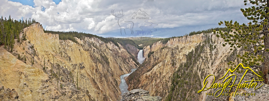Lower Yellowstone Falls and the Grand Canyon of the Yellowstone