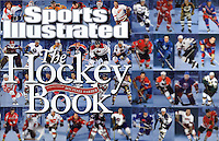 2011 tearsheet of work published in Sports Illustrated THE HOCKEY BOOK.  Image of Luc Robitalle on the cover.