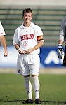 Maryland's Michael Dello-Russo on Wednesday, November 9th, 2005 at SAS Stadium in Cary, North Carolina. The University of Maryland Terrapins defeated the Wake Forest University Demon Deacons 2-1 during their Atlantic Coast Conference Tournament Quarterfinal game.