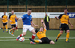 Barrie McKay takes on the Annan rearguard single handed