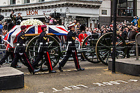 17.04.2013 - Margaret Thatcher's Death - The Funeral