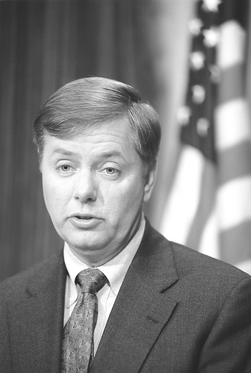 undated: South Carolina Rep. Lindsey Graham.           file/Roll Call