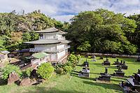 Kinkaku-ji Temple, Kyoto Gardens of Honolulu Memorial Park, O'ahu.