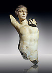 Greek  Hellenistic marble statue of Apollo, God of light, fine arts &amp; prophecy, 2nd cent. B.C.  Istanbul Archaeological museum Inv 383 T.  Cat. Mendel 548