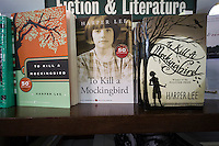 "Paperback copies of ""To Kill a Mockingbird"" by Harper Lee are seen on a bookstore shelf in New York on Wednesday, February 4, 2015. The famed Pulitzer Prize winning author will release her second novel, ""Go Set A Watchman"", a sequel to Mockingbird published 50 years ago. Watchman was actually written prior to Mockingbird and was recently found after being thought lost. The book will be released July 14. (© Richard B. Levine)"