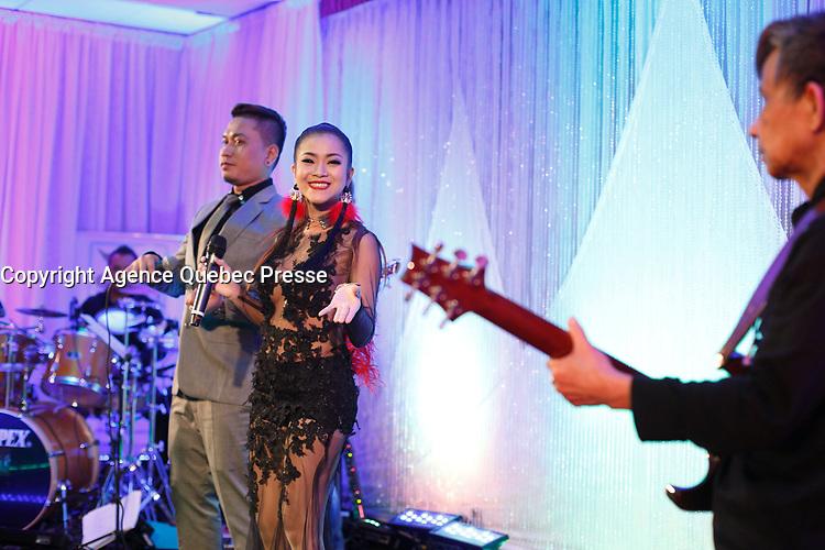 Kevin, Ratanak Pisey<br /> <br />  Photo :- Agence Quebec Presse