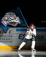 March 12, 2011: The Oklahoma City Barons play the Grand Rapids Griffins in an American Hockey League game at the Cox Convention Center in Oklahoma City.