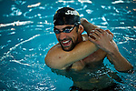 "Olympic medalist Michael Phelps attends a event called ""Official Training Restaurant of the Phelps Family"" to support his sister Whitney as she runs the ING New York City Marathon on November 4.  the event was organized by the food company ""Subway"" in New York, United States. 15/10/2012. Photo by VIEWpress."