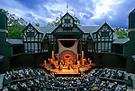 Elizabrthan Theatre  Oregon Shakespeare Festival.Photo: T Charles Erickson
