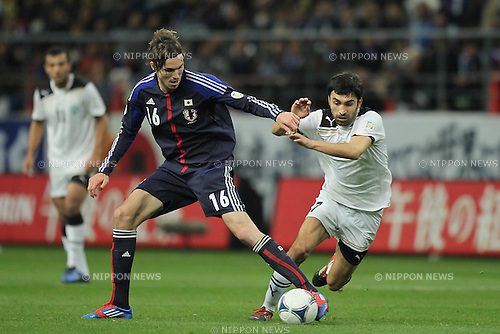 Mike Havenaar (JPN), .FEBRUARY 29, 2012 - Football / Soccer : 2014 FIFA World Cup Asian Qualifiers Third round Group C match between Japan 0-1 Uzbekistan at Toyota Stadium in Aichi, Japan. (Photo by Akihiro Sugimoto/AFLO SPORT) [1080]