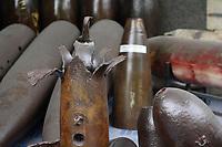 Ho Chi Minh city<br /> , Vietnam - 2007 File Photo -<br /> <br /> <br /> bombs on display at war museum.  <br /> <br /> <br /> <br /> photo : James Wong-  Images Distribution