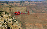 AZ, Helicopter sightseeing, Grand Canyon National Park, Arizona.Photo Copyright: Lee Foster, lee@fostertravel.com, www.fostertravel.com, (510) 549-2202.azgran202