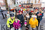 Garda Patricia Fitzpatrick and Breda O'Sullivan (in foreground) at the annual Garda street collection in aid of Inspired charity in the Mall, Tralee on Wednesday.