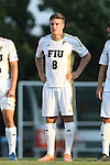 28 August 2015: FIU's Steffen Bohm (GER). The University of North Carolina Tar Heels hosted the Florida International University Panthers at Fetzer Field in Chapel Hill, NC in a 2015 NCAA Division I Men's Soccer match. North Carolina won the game 1-0