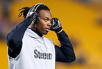Martavis Bryant #10 of the Pittsburgh Steelers warms up prior to the game against the Indianapolis Colts at Heinz Field on December 6, 2015 in Pittsburgh, Pennsylvania. (Photo by Jared Wickerham/DKPittsburghSports)