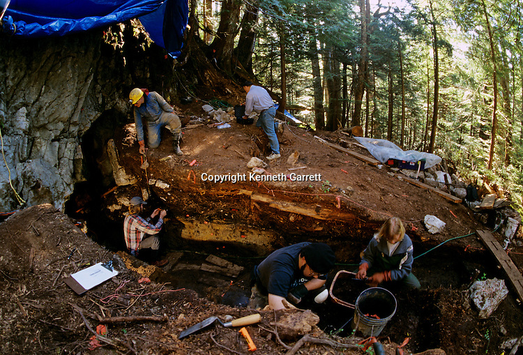 Peopling the Americas; Cultural deposit; On Your Knees Cave; Prince of Wales Island; Alaska