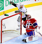 6 February 2010: Pittsburgh Penguins' center Sidney Crosby watches the fruits of his assist on a second period goal against the Montreal Canadiens at the Bell Centre in Montreal, Quebec, Canada. The Canadiens defeated the Penguins 5-3. Mandatory Credit: Ed Wolfstein Photographer